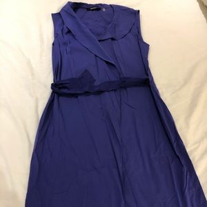 Purple Tahari dress
